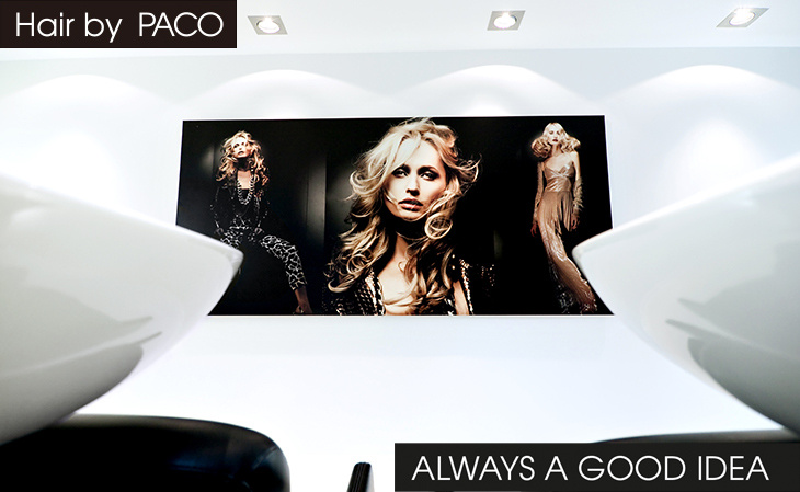 Hairdresser - Hair by PACO - Intercoiffeur with hairdressing salons in Aachen, Cologne, Bonn and Dusseldorf